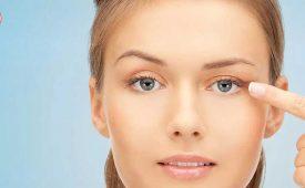 درمان افتادگی پلک با نخ