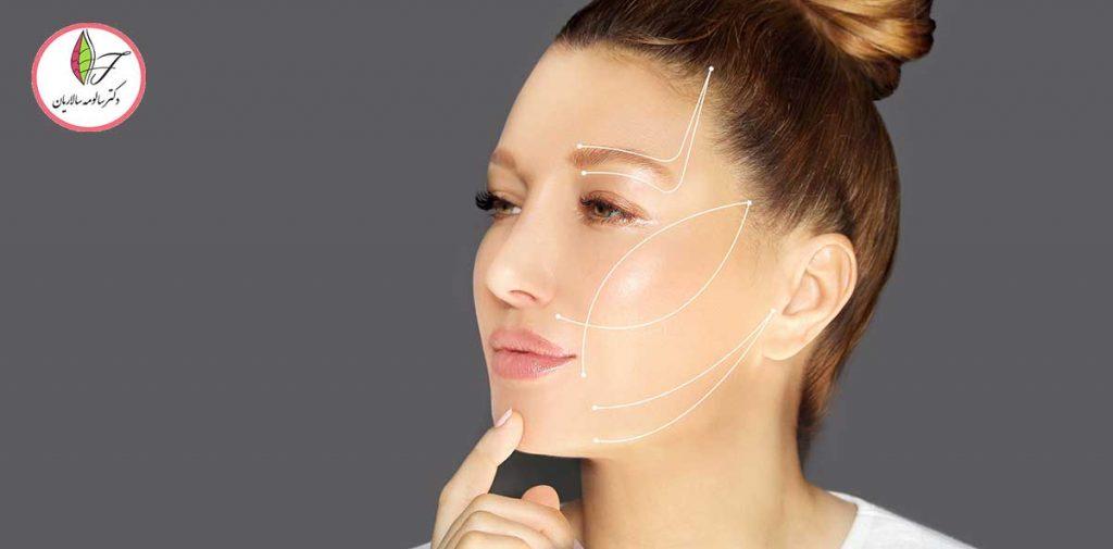 لیفت صورت با نخ بهتر است یا جراحی لیفتینگ صورت؟